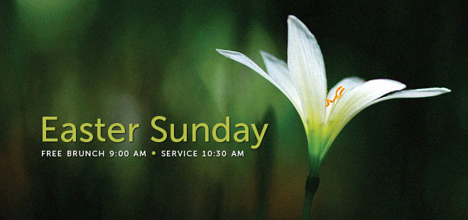 Easter 2011 Sunday web banner
