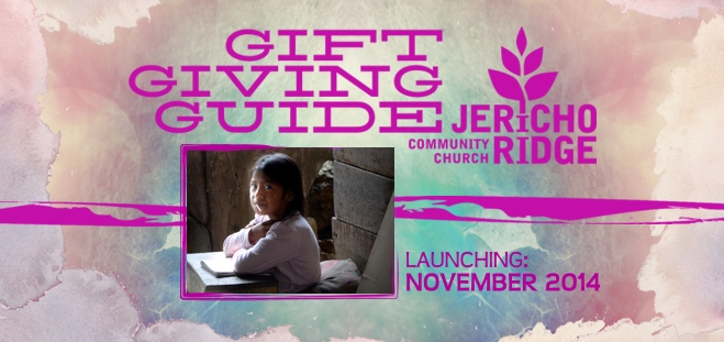 Gift Giving Guide 2014 Web Banner