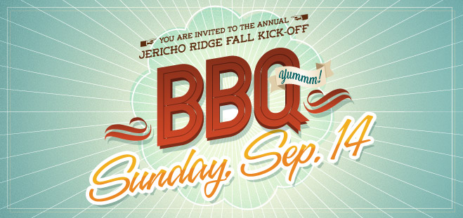 Welcome Back BBQ Banner 2014